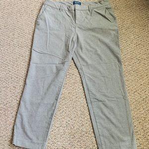 Gray wool pant